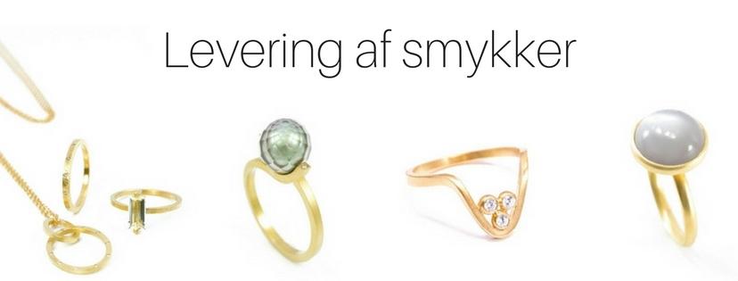 Levering af smykker
