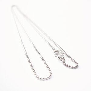 Halskæde i sterling sølv, forgyldt eller 14 karat