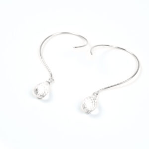 Loops øreringe med Bjergkrystal og ædelsten og krystaller