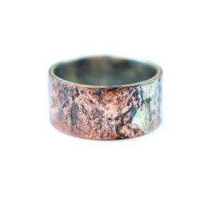 Sølvring med Kobber